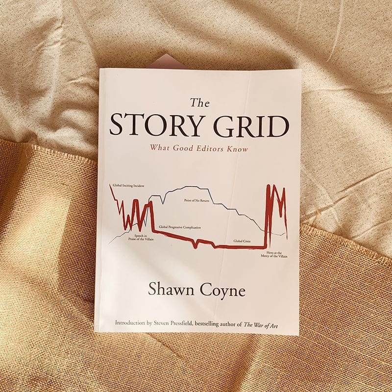 Photo of Story Grid by Shawn Coyne.
